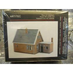 ** Artitec 10115 House with Saddle Style Roof Model Kit