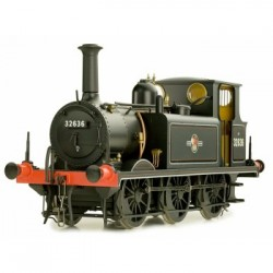 * Dapol 7S-010-011 Terrier A1X 32636 B R Lined Black Late Crest