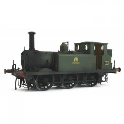 * Dapol 7S-010-008W Terrier A1X Portishead 5 GWR Green Weathered