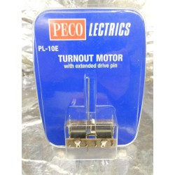 ** Peco PL10E Turnout Motor with Extended Drive Pin