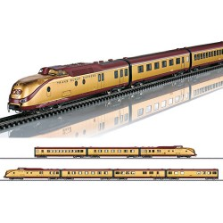 ** Marklin 37603 DB VT11.5 TEE Gold Plated 7 Car DMU III (MFX-Sound) HO AC Digital