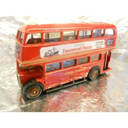 ** Fisherman's Friend FF003 Red London Double Decker Bus OO 1/76 Scale Diecast Model Collection