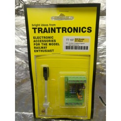** Traintronics TT107  4 Aspect Signal, Red/yellow/Green/yellow,  Complete with Fading Interface Board.