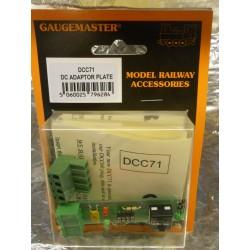 ** Gaugemaster DCC71 Prodigy DC Adaptor Plate/Decoder Tester