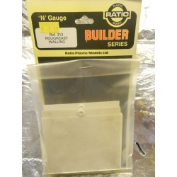 ** Ratio 313 Roughcast Walling (4 Sheets)
