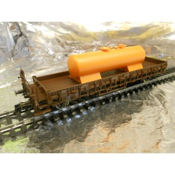 ** Fleischmann 855257 DB Wagon with load HO Scale