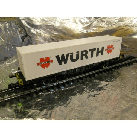 ** Fleischmann 875240 Container wagon Wurth