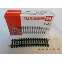 ** Fleischmann 6032 HO Model Track Curved  Radius 2  415mm  15 Deg