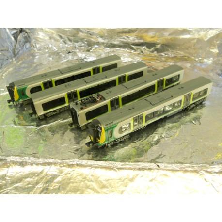 ** Graham Farish 371-701 Class 350/2 Desiro 4 Car EMU 350 238 London Midland