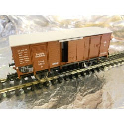 Fleischmann 835801 Box Wagon in DRG Brown Epoch 2