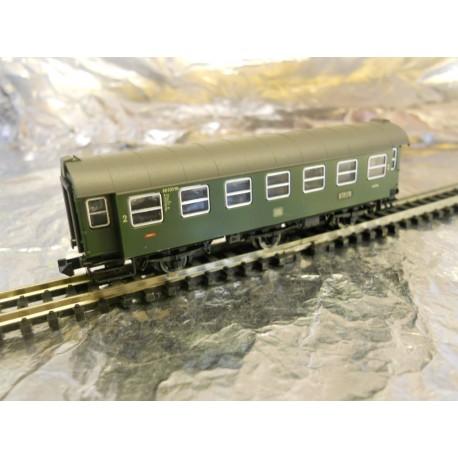 ** Fleischmann 8096 DB 2nd Class 6-Wheeled Convert Coach