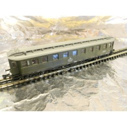 ** Fleischman 838083 4-Axel Ex Prussian Coach in Service of the DB