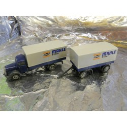 "** Herpa 286657 Mercedes Benz 311 L Canvas Trailer ""Mahle"""
