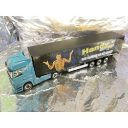 ** Herpa 288651  Mercedes-Benz Actros LH Curtain Canvas Semitrailer Angleitner