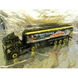 ** Herpa 151658 Mercedes Benz Axor Silo Semitrailer Christmas 2005
