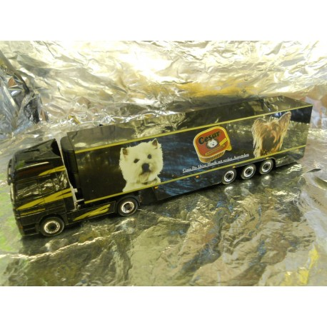 ** Herpa 268936 Mercedes Benz Actros Refrigerated Box Semitrailer Rigterink / Cesar