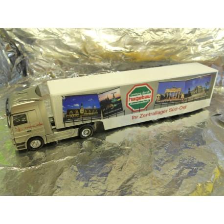 ** Herpa 149020 Mercedes Benz Actros LH Safeliner Semitrailer Zentrallager Sued-Ost