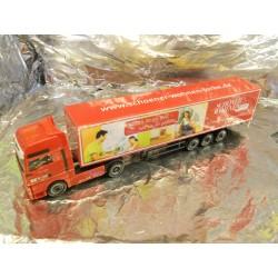 """** Herpa 278614 MAN TGA XXL Euro Box Semitrailer """"BKV / Schoener Wohnen in Farbe"""""""