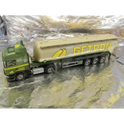 ** Herpa 904285  Scania R HL Silo Semitrailer Getron (NL)