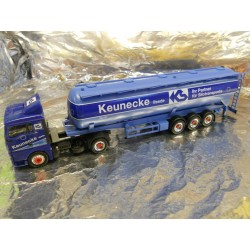 "** Herpa 146692 MAN TGA XL Bulk Semitrailer 60m³ ""Keunecke"""