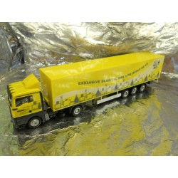 "** Herpa 288132 MAN TGA XL Euro Box Semitrailer ""Heinz Glas"""