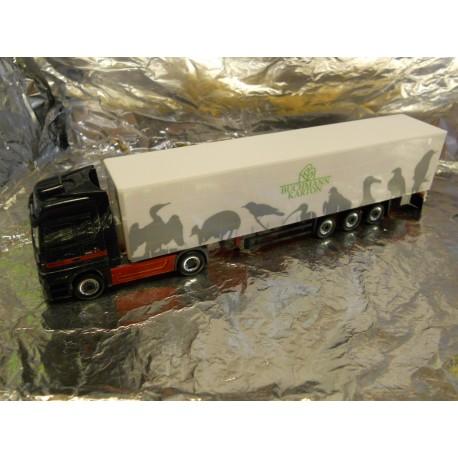 """** Herpa 902663  Mercedes-Benz Actros LH Curtain Canvas Semitrailer """"Eichenlaub""""."""