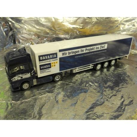 ** Herpa 905718 MAN TGX XXL Box Semitrailer Bavaria
