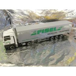 """** Herpa 289955 MAN TGX XLX Walking Floor Semitrailer """"Fisel"""""""