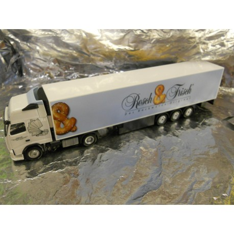 "** Herpa 901598  Volvo FH XL Refrigerated Box Semi-Trailer,  "" Rosch & Frisch ""."