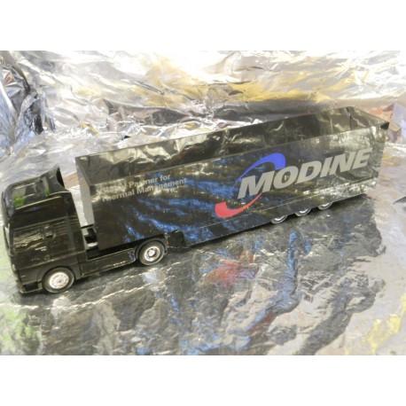 ** Herpa 260497 MAN TGA XXL Box Semitrailer Modine