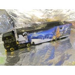 "** Herpa 150620 Scania R TL Box Semitrailer ""Christmas 2004"""
