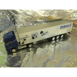 """** Herpa 268837 Mercedes Benz Actros L '02 Box Semitrailer """"MAHLE"""""""