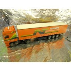 ** Herpa 152341 DAF XF SSC Curtain Canvas Semitrailer Neier