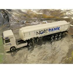 """** Herpa 149143 Mercedes Benz Actros LH Jumbo Tank Semitrailer """"Nordtank"""""""