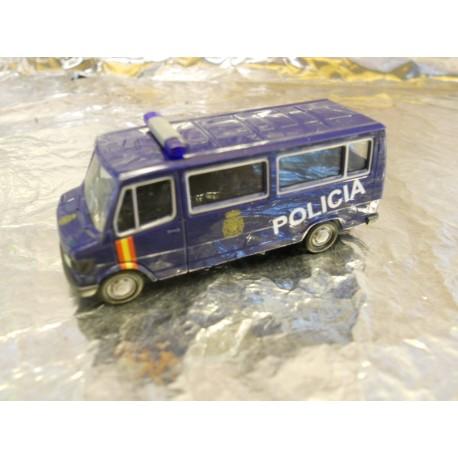 "** Herpa 286770 Mercedes Benz 207 D bus ""Policia"" (ES)"