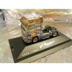 "** Herpa 222075 Mercedes-Benz Actros LH Rigid Tractor ""Herpa Presents II / Gold Fever"""