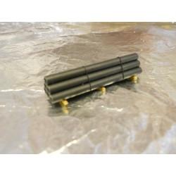 ** Heico 220041 Tubes on Wooden Blocks 45mm TT / N