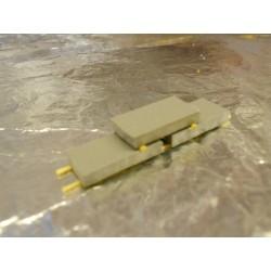 ** Heico 220301 Concrete Slabs on Wooden Blocks 50mm TT / N