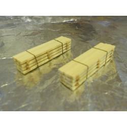 ** Heico 220246 2 x Timber Loads on Wooden Blocks 40mm TT / N