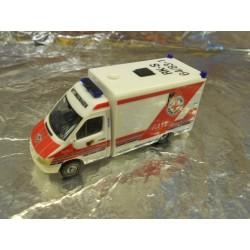 """** Herpa 285131 Mercedes-Benz Sprinter """"Stuttgart Rescue Service"""""""