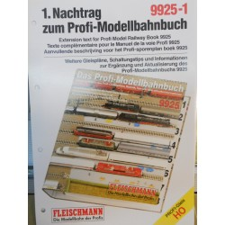 ** Fleischmann 9925-1 Extension Text for Profi Model Railway Book 9925 1:87 Scale