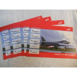 ** Herpa Wings News 09-10 2017 Brochure various Scales