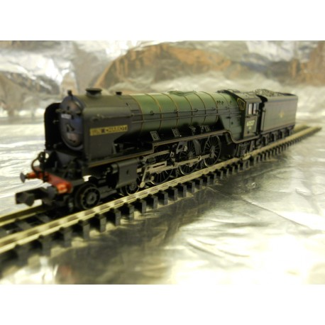 ** Graham Farish 372-387 Class A2 60527 Sun Chariot BR Lined Green Late Crest