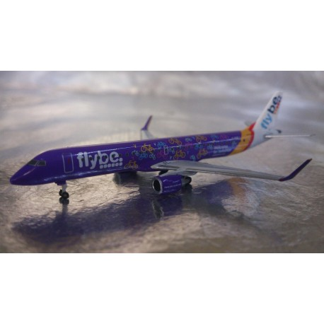 ** Herpa Wings 529792 FlyBe Embraer E195 - Welcome to Yorkshire