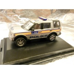 ** Oxford Diecast 76LRD007 Land Rover Discovery 3 Metropolitan Police