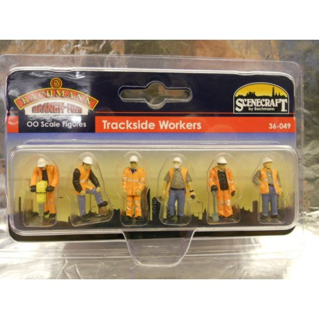 ** Bachmann 36-049 Trackside Workers (6)
