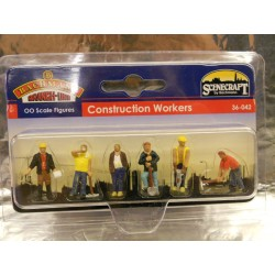 ** Bachmann 36-042 Lineside Construction Workers (6)