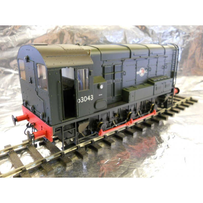 ** Dapol 7D-008-000D BR Class 08 D3043 Green Late Crest DCC Sound - MDR  Direct Online