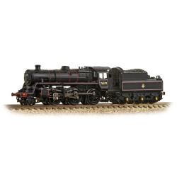 ** Graham Farish 372-653 BR Standard Class 4MT 76079 BR Lined Black Early Emblem