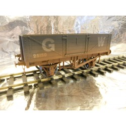 ** Dapol 7F-051-031W 5 - Plank Wagon GWR 25150 Weathered